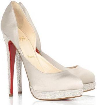 Булчински обувки и чанти ! Brides-shoes-christian-louboutin
